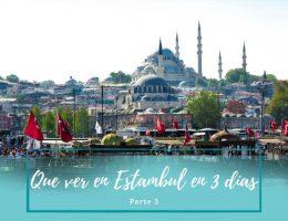 Visitar Estambul - Pasaporte a la Tierra