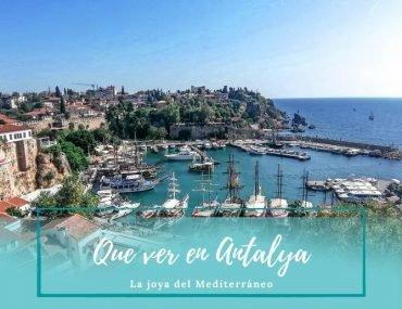 Que ver en Antalya - La perla del Mediterráneo - Pasaporte a la Tierra