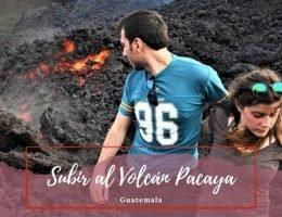 volcán de Pacaya en Guatemala - Pasaporte a la Tierra