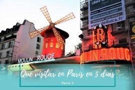 Qué ver en París en 5 días - Pasaporte a la Tierra