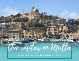 Que visitar en Malta - Pasaporte a la tierra