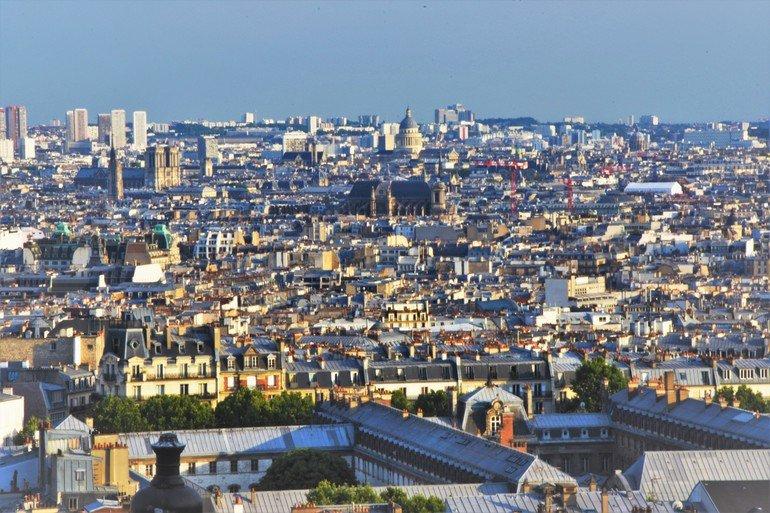 Vistas desde el Sagrado Corazón - Que ver en París en 5 días