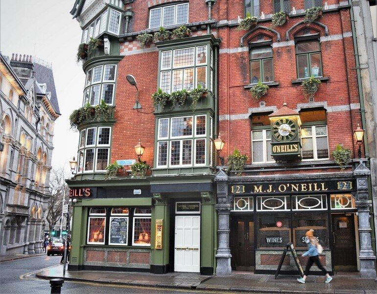 Pub O´neill - Que ver en Dublín en 3 días