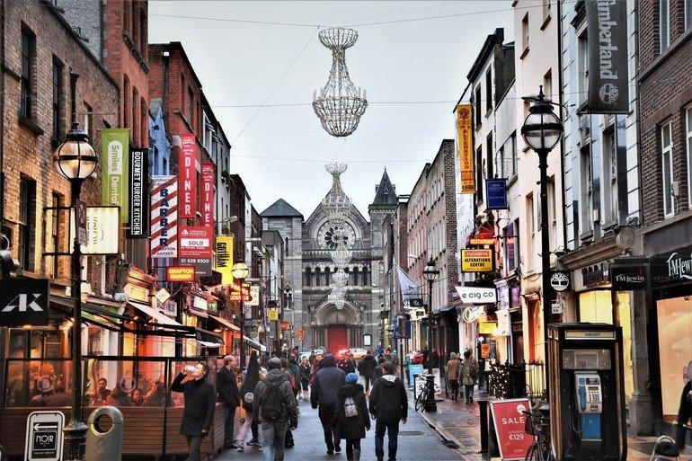 centro de Dublín - Que ver en Dublín en 3 días