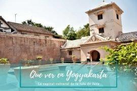 Que ver en Yogyakarta - Pasaporte a la Tierra