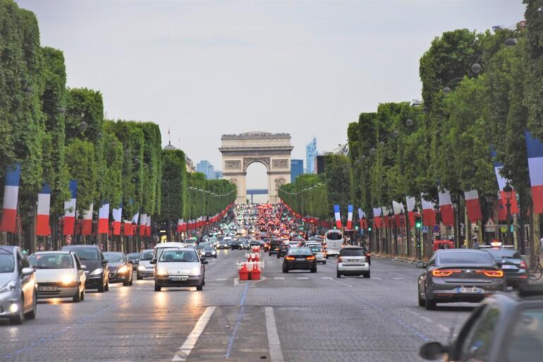 Arco del Triunfo - Que ver en París en 5 días
