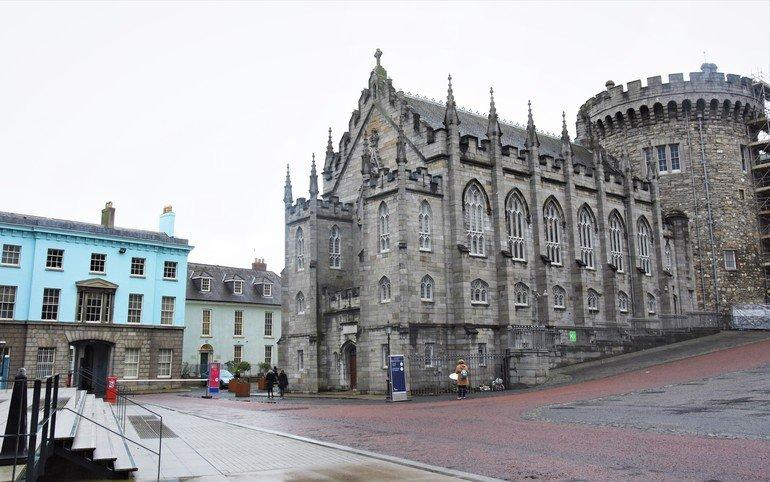 Fachada Castillo de Dublín - Que ver en Dublín en 3 días