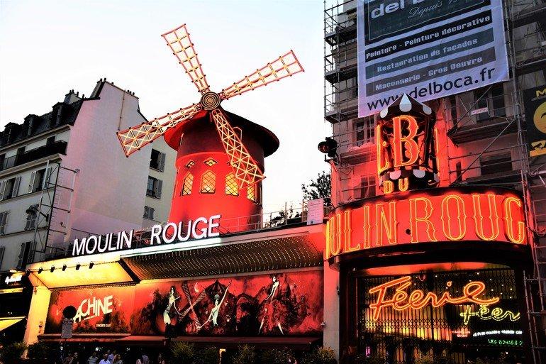 Molino Rojo - Que ver en París en 5 días