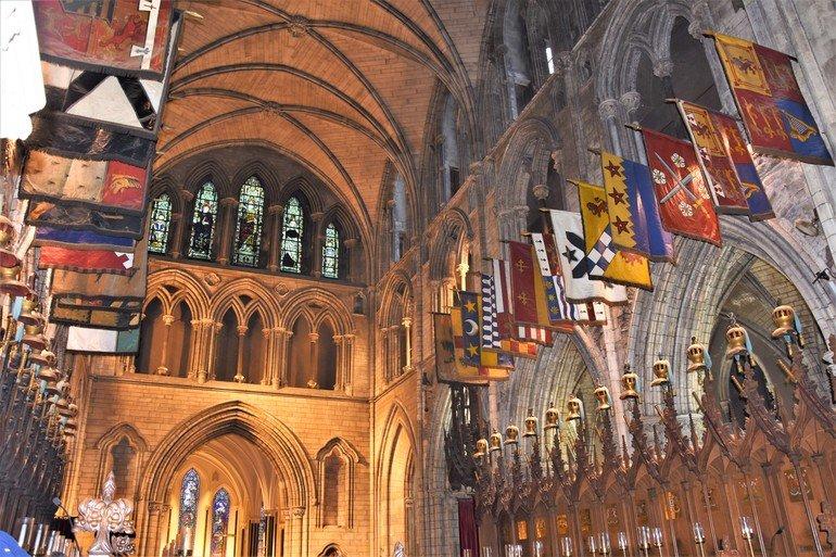 Interior de Catedral de San Patricio - Que ver en Dublín en 3 días