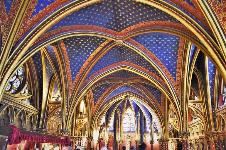 La Santa Capilla París - Que ver en París en 5 días