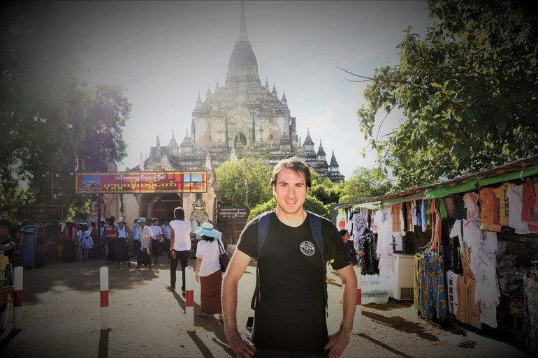 Templo Gaw Daw Palin - Ruta por los templos de Bagán