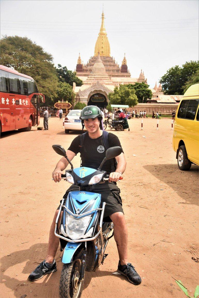 Templo Ananda - Ruta por los templos de Myanmar