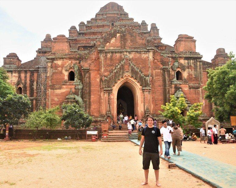 Templo Dhammayangyi - Ruta por los templos de Bagán