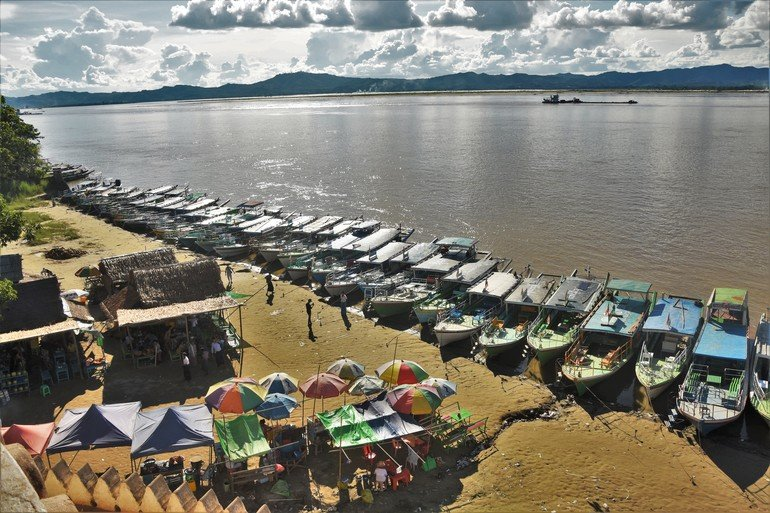 Río Irawadi - Ruta por los Templos de Bagan