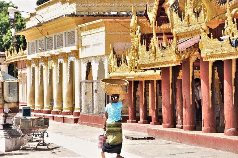 Pagoda Shwezigon - Que ver en Myanmar