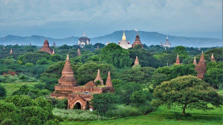 Atardecer desde Buledi - Que ver en Bagan