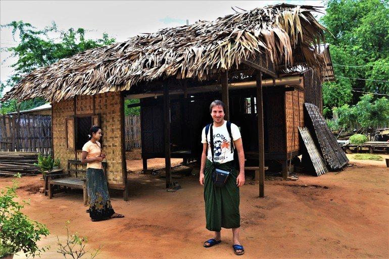 Aldea Minnanthu - Que ver en Myanmar