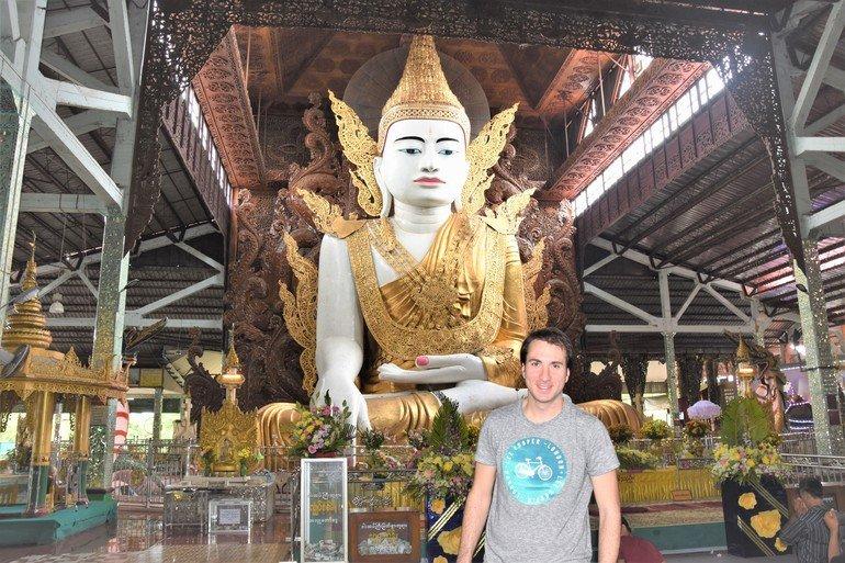Templo Nga Htat Gyi - Que ver en Yangon