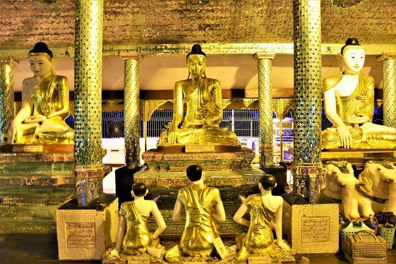 Pagoda Shwedagon - Que ver en Yangon