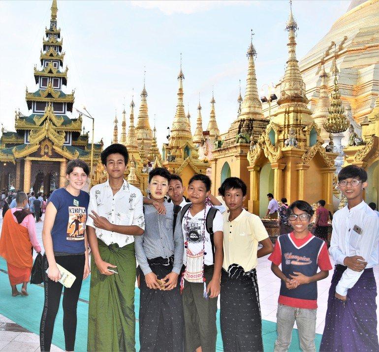 Gran Pagoda Dorada - Que ver en Yangon