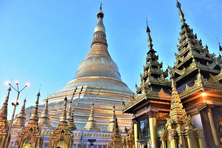 Pagoda Shwedagon- Que ver en Yangon