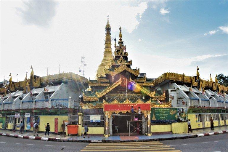 Pagoda de la rotonda - Quever en Yangon