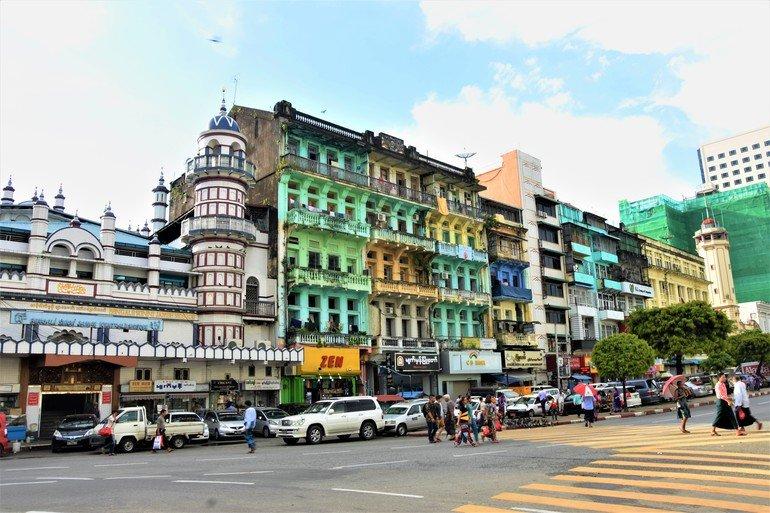Edificios coloniales - Que ver en Yangon