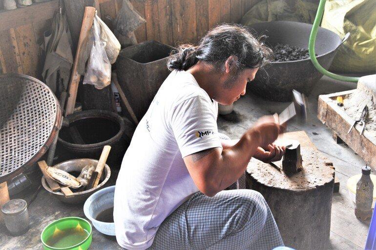 Fábrica de Plata- Lago Inle, Myanmar