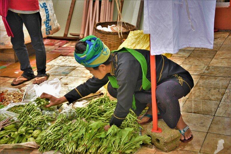 Mercado flotante - Lago Inle, Myanmar