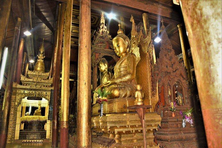 Nga Hoe Chaung oNga Hpe Kyaung - Lago Inle, Myanmar