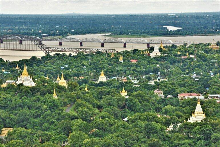 Sagaing Hill - Que ver en Mandalay
