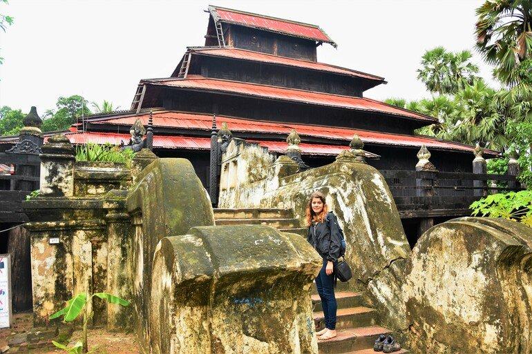 Monasterio Bagaya - Que ver en Mandalay