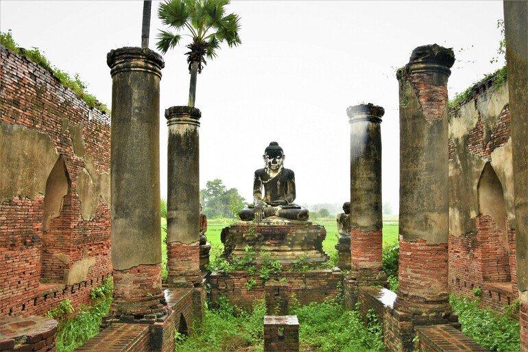 Yedanasino Paya - Que ver en Mandalay