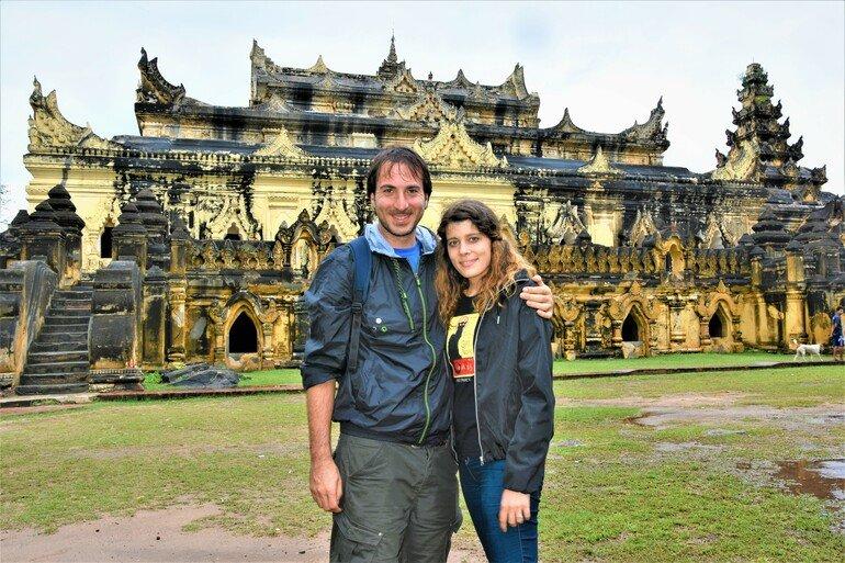 Monasterio Maha Aungmye Bonzan - Que ver en Mandalay