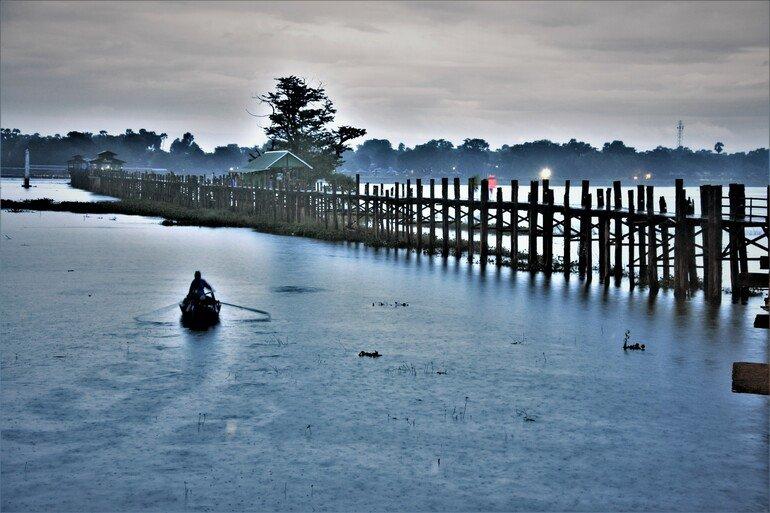 Puente de Teka más largo del mundo - Que ver en Mandalay