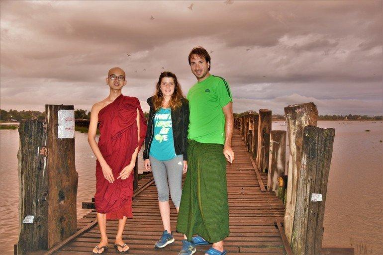 Puente de teka - Que visitar en Mandalay