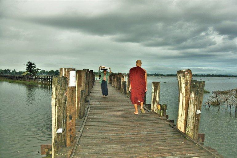 Puente U-Bein- Que visitar en Mandalay