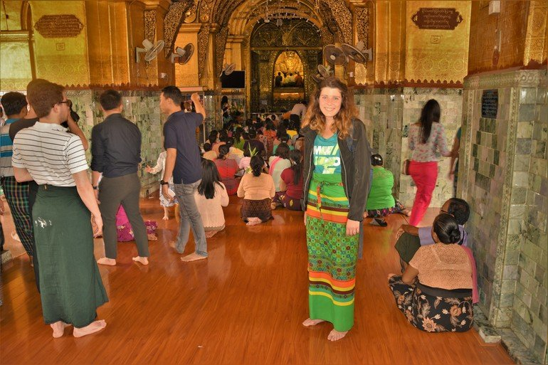 PagodaMahamuni - Que visitar en Mandalay