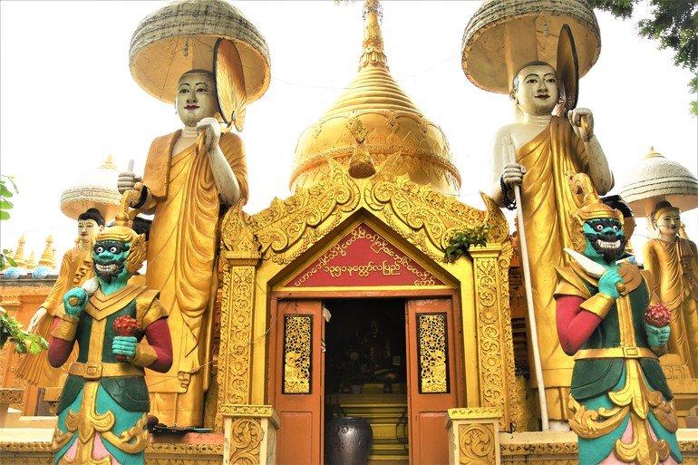 Templo Kyaw Aung San - Que visitar en Mandalay