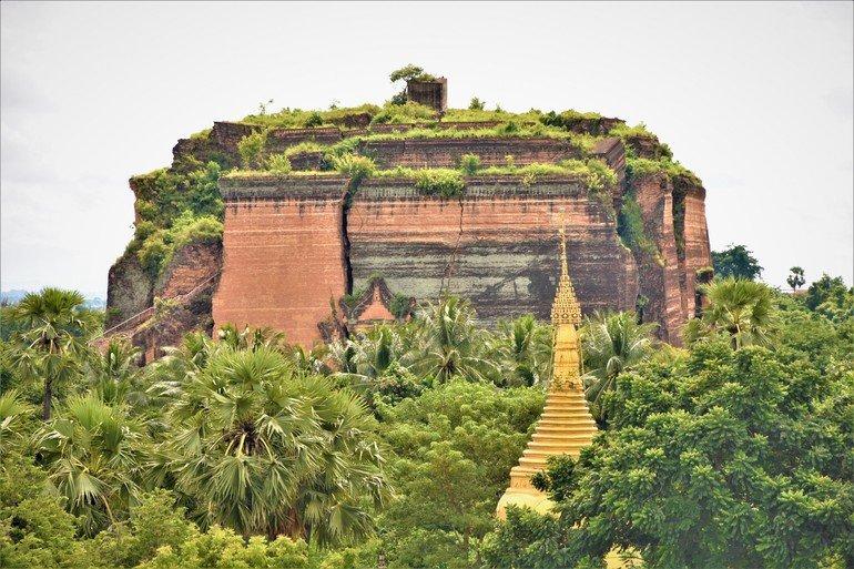Mingun Pahtodawgyi - Que visitar en Mandalay