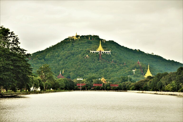 Mandalay Hill - Que visitar en Mandalay