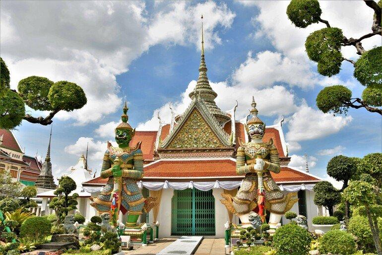 Templo del amanecer - Que ver en Bangkok