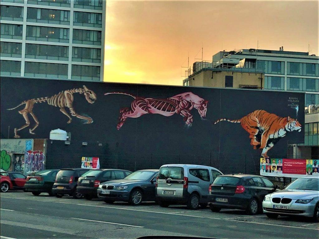 Grafiti en Hamburgo