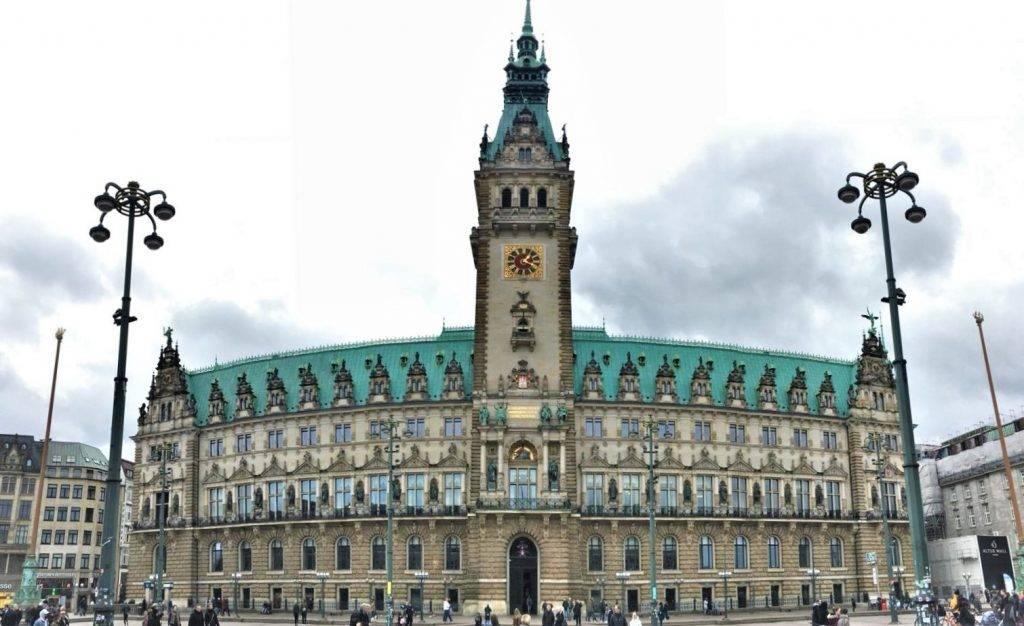 Ayuntamiento, que ver en Hamburgo