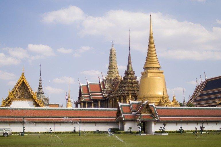 Grand Palace en Bangkok