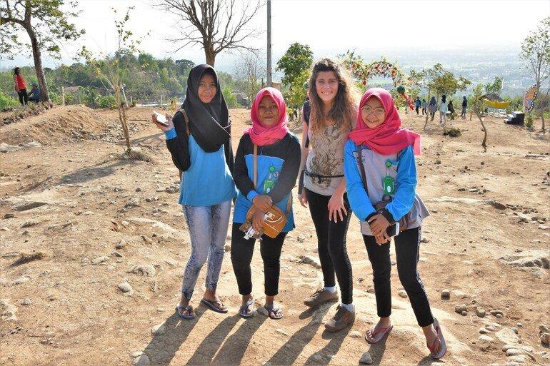 Tebing Breksi cerca de Prambanan