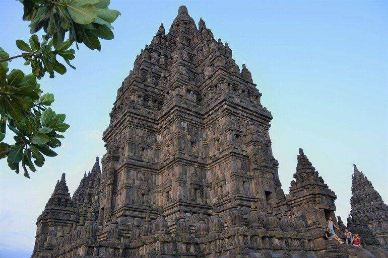 Atardecer en Prambanan - Yogyakarta