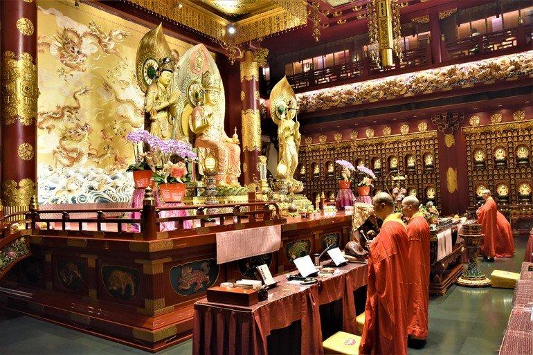 Templo de la reliquia del diente de Buda- Que ver en Singapur en un día