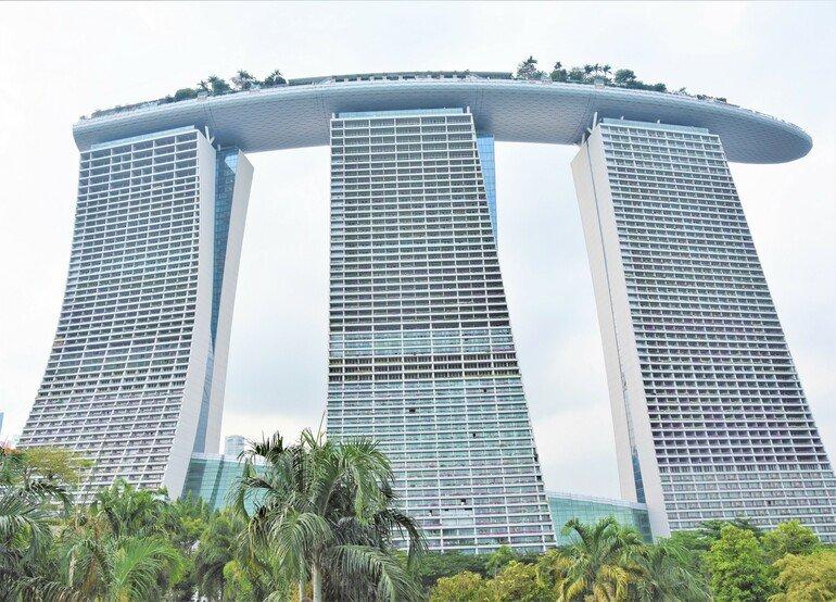 Marina By Sand - Que ver en Singapur en un día