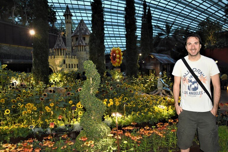 Flower Dome -Gardens By the Bay